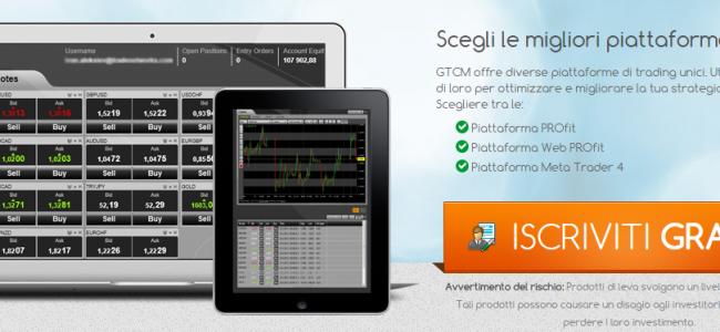 Piattaforme di Trading GTCM